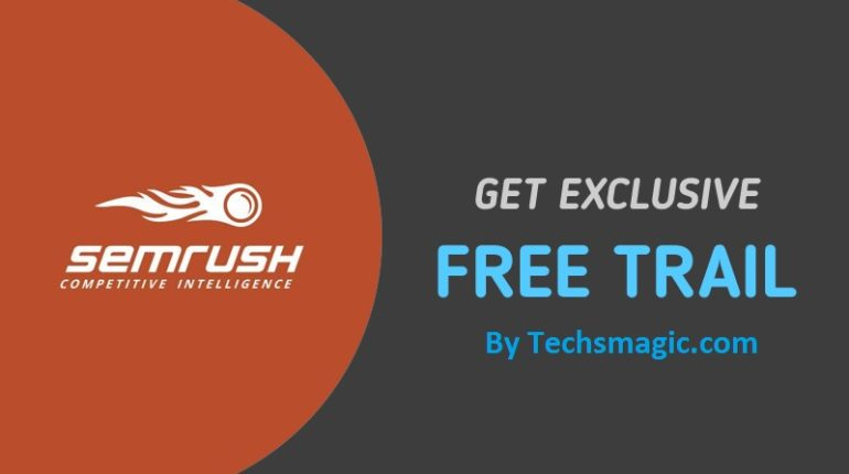 Free trial offers by Semrush