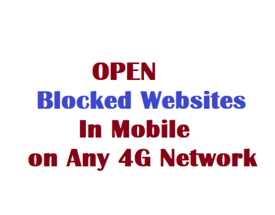 access banned websites on Jio
