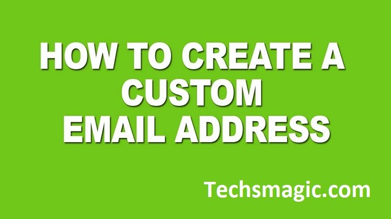 make email id with own domain