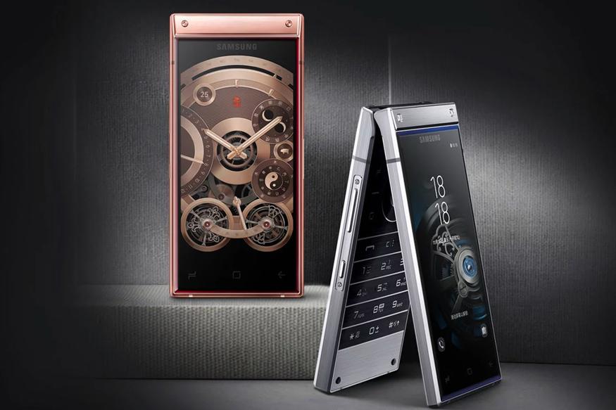 samsung w2019 flip phone review