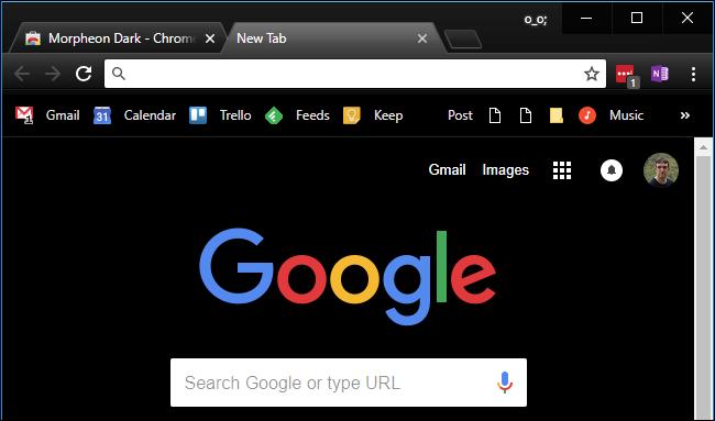 How to make Google dark mode_3