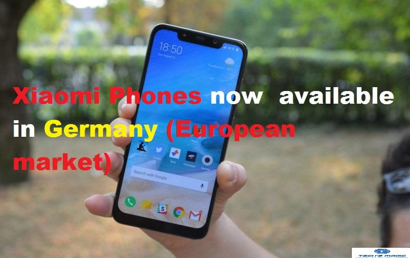 Buy Xiaomi Phones Germany