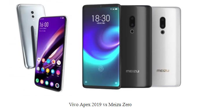 Vivo Apex 2019 Vs Meizu Zero