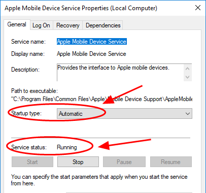 iPhone not recognized by Windows 10