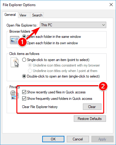 How to fix file explorer not responding Windows 10 issue