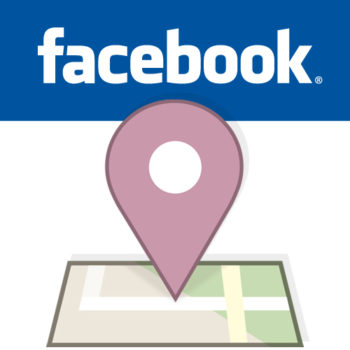Facebook tracks location