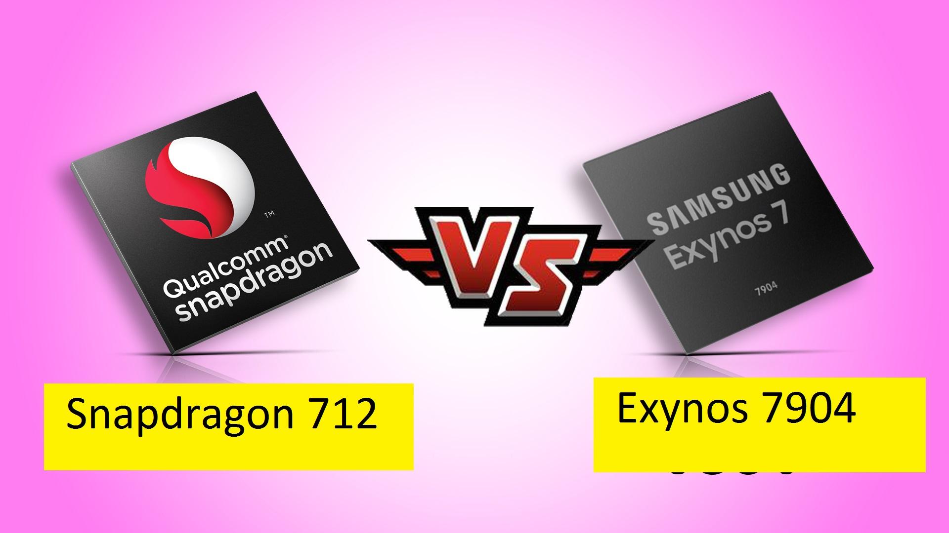 Exynos 7904 Vs Snapdragon 712