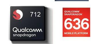 Qualcomm snapdragon 712 vs Snapdragon 636