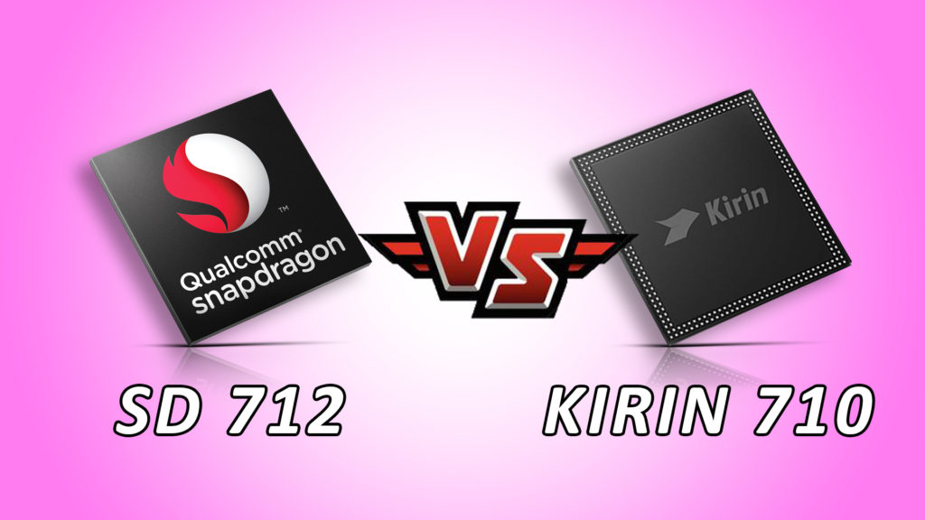 HiSilicon Kirin 710 Vs Qualcomm snapdragon 712