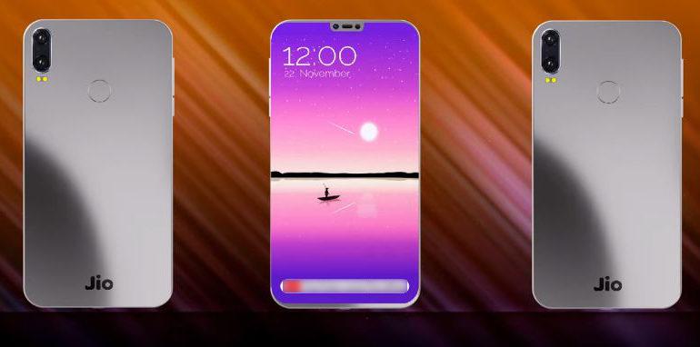 JioPhone 3 touchscreen Smartphone