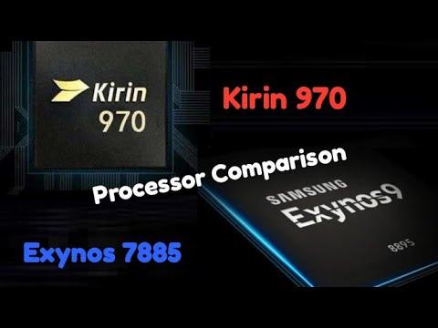 Samsung Exynos 7885 vs HiSilicon Kirin 970