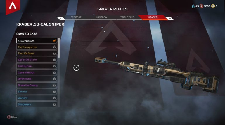 apex legends item list