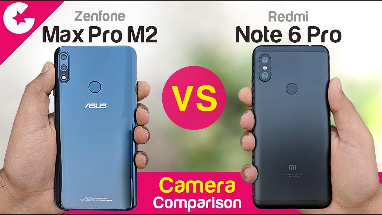 ASUS Zenfone Max Pro M2 Vs Redmi Note 6 Pro
