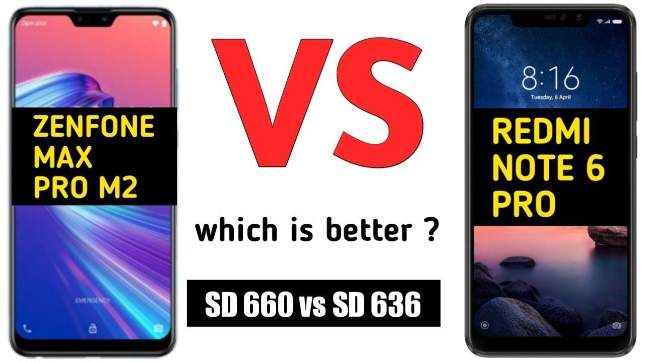 Redmi Note 6 Pro Vs ASUS Zenfone Max Pro M2 camera comparison