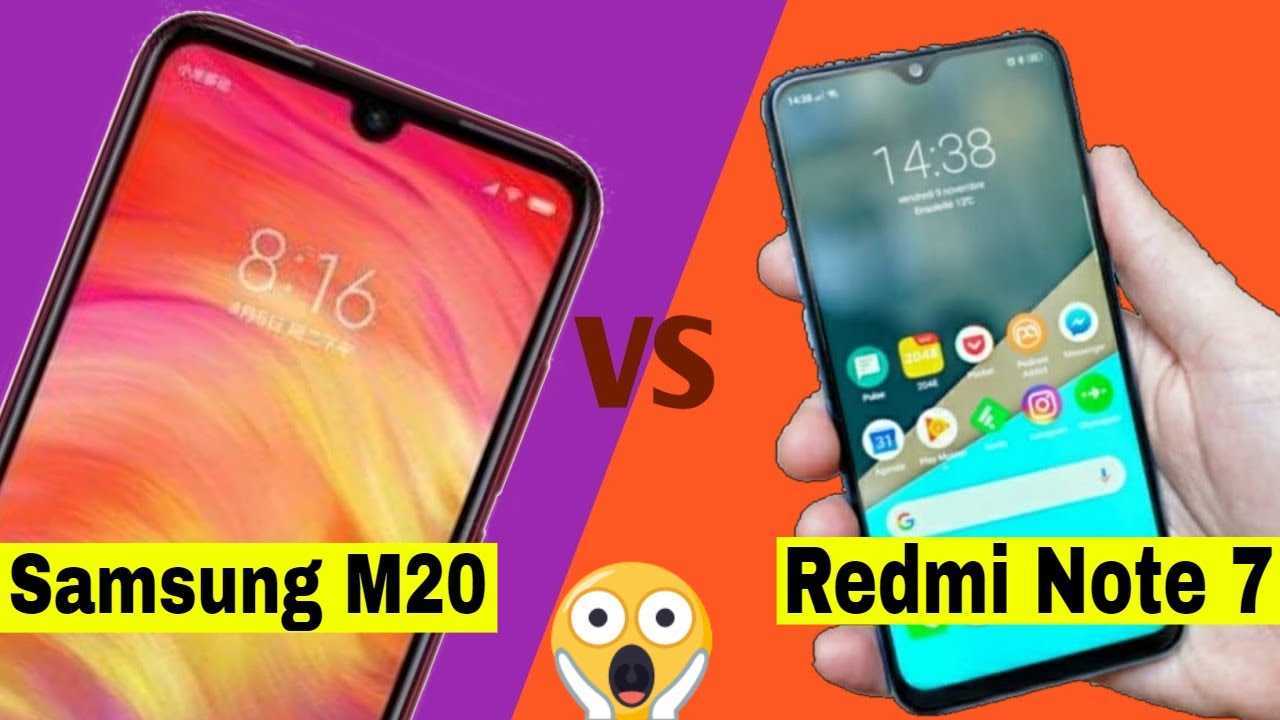 Redmi Note 7 Vs Samsung M20 camera comparison