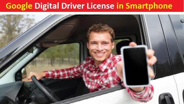 Google Digital Driver License