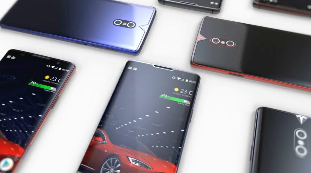 Elon Musk concept smartphone