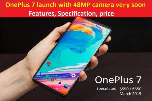 OnePlus 7 specs and price