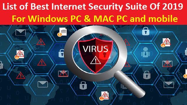 best free internet security suite 2019