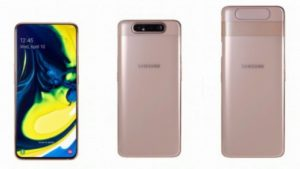Samsung Galaxy A80 triple-lens rotating camera-