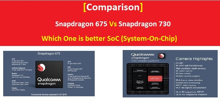 Snapdragon 675 Vs Snapdragon 730