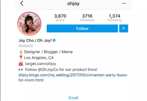 how to center instagram bio 2019