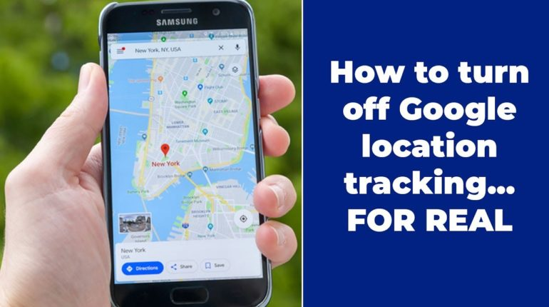 stop google tracking location
