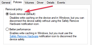 unplug USB without ejecting