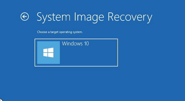 how to create full backup windows 10